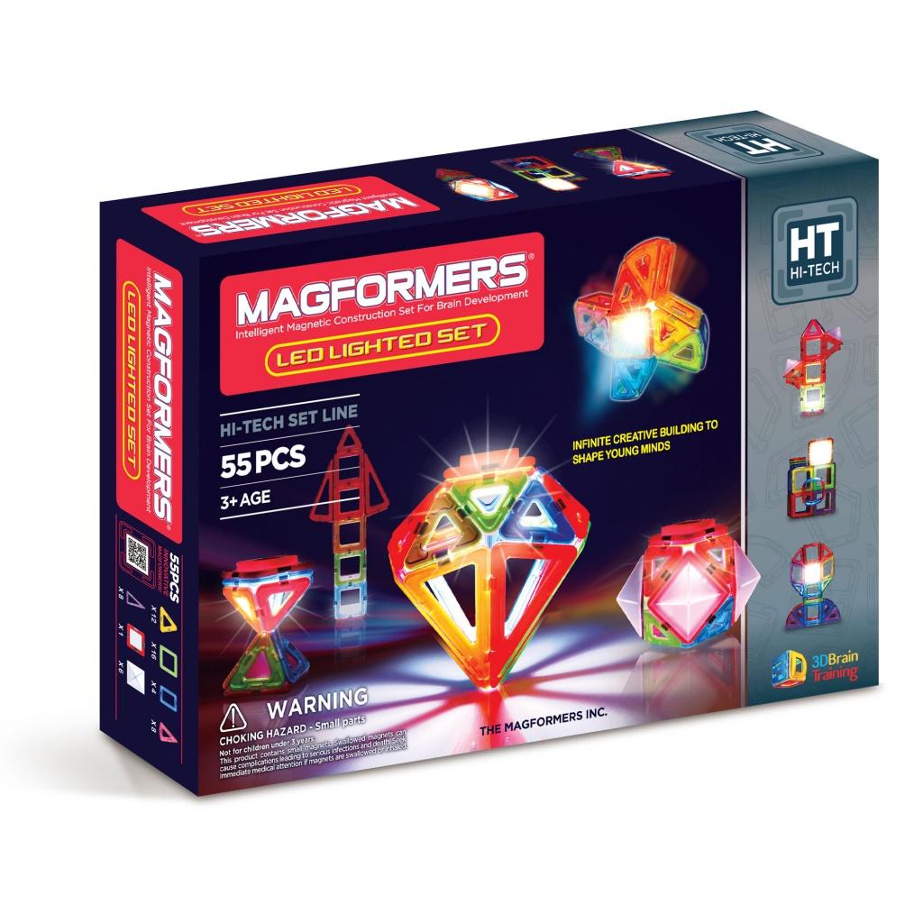 Magformers Магнитный конструктор Lighted Set