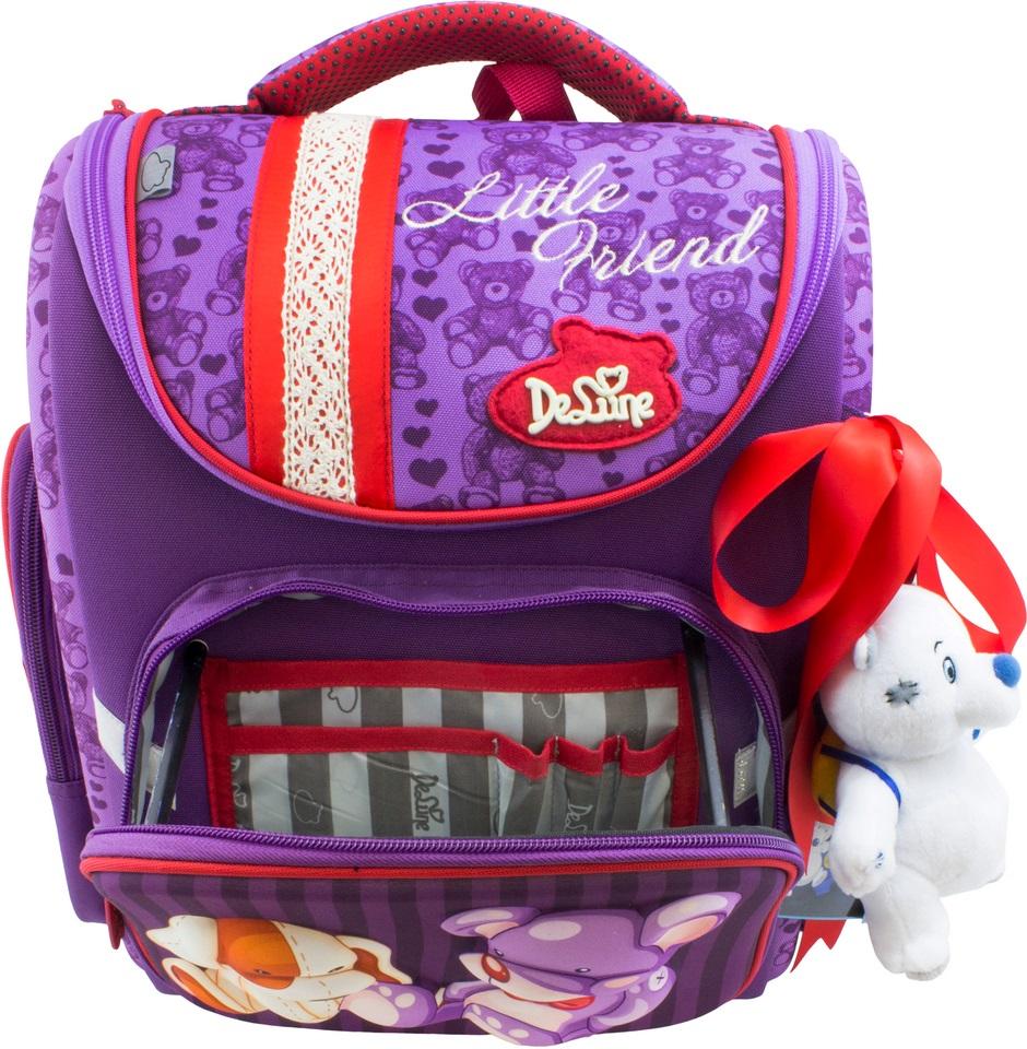 DeLune Ранец школьный цвет фиолетовый 3-138