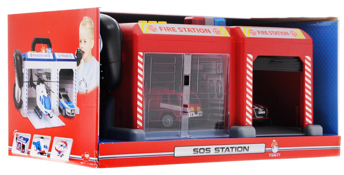 Dickie Toys Игровой набор Спасательная станция