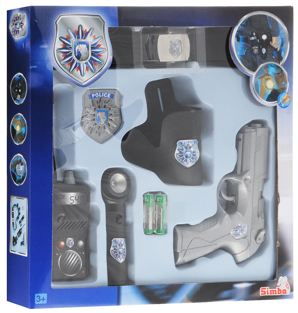 Simba Игрушечный набор Полицейский