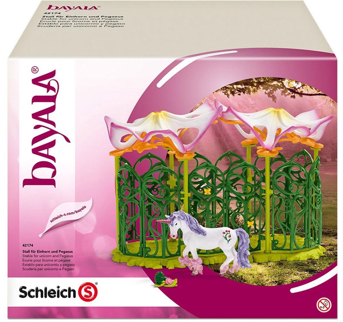 Schleich Игровой набор Эльфийская конюшня
