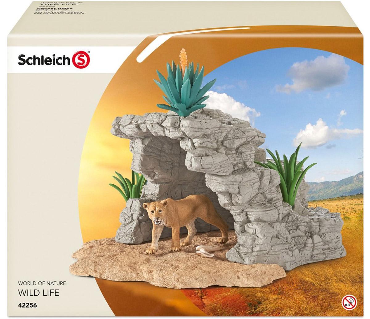Schleich Игровой набор Пещера со львом