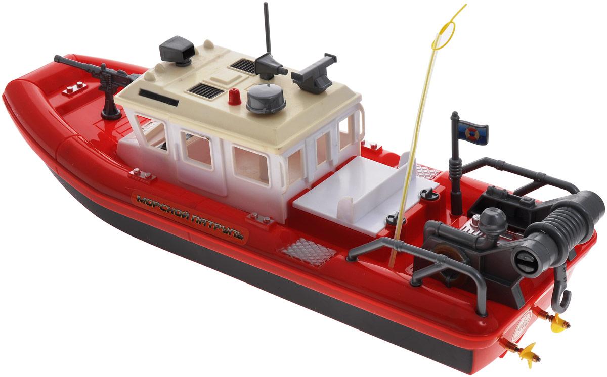 парусная лодка на радиоуправлении