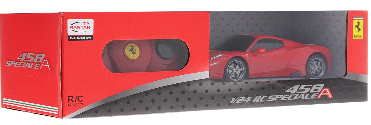 Rastar Радиоуправляемая модель Ferrari 458 Speciale A цвет красный