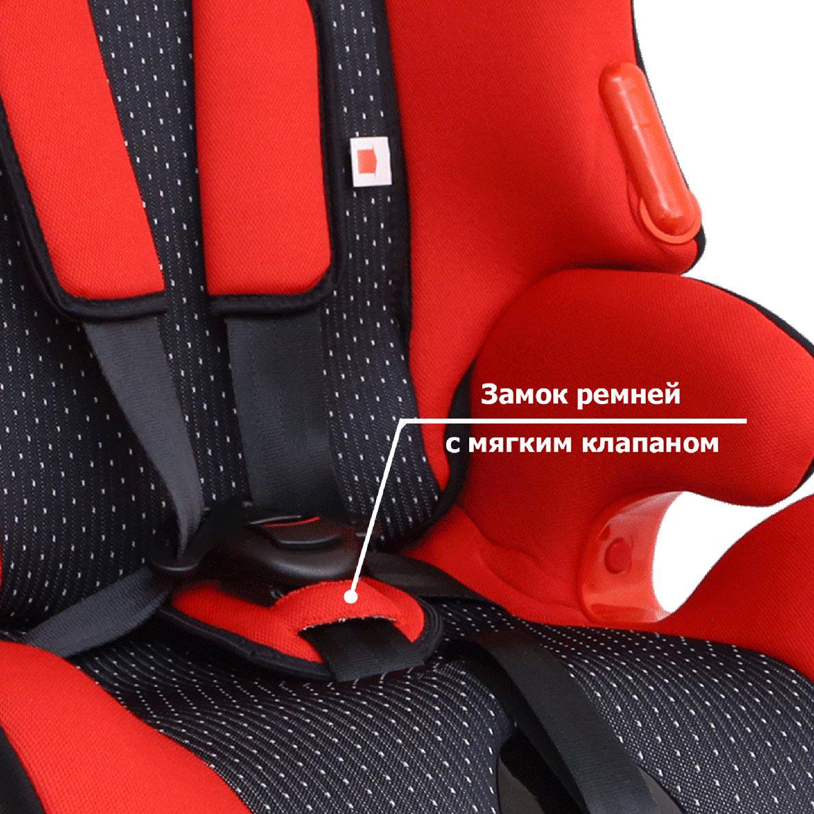 Siger Автокресло Космо цвет красный от 9 до 36 кг