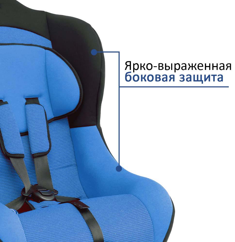 Siger Автокресло Тотем цвет синий от 0 до 18 кг