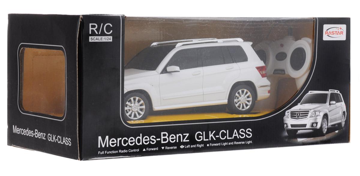 Rastar Радиоуправляемая модель Mercedes-Benz GLK-Class цвет белый масштаб 1:24
