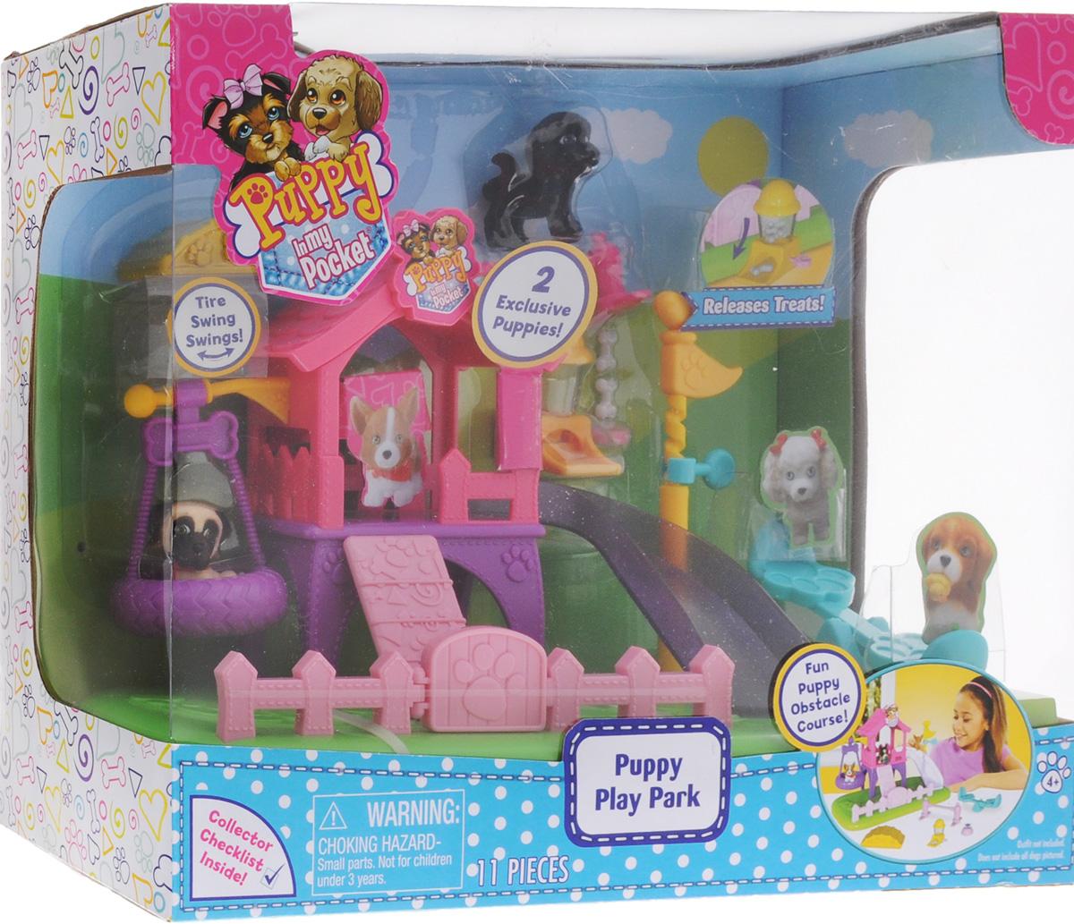 Puppy In My Pocket Игровая площадка для щенков с фигурками