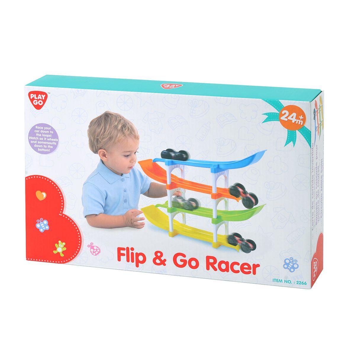 Playgo Развивающая игрушка Трек с машинками