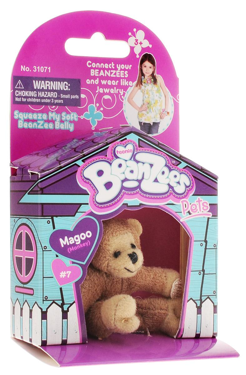 Beanzees Мягкая игрушка Обезьянка Magoo 5 см