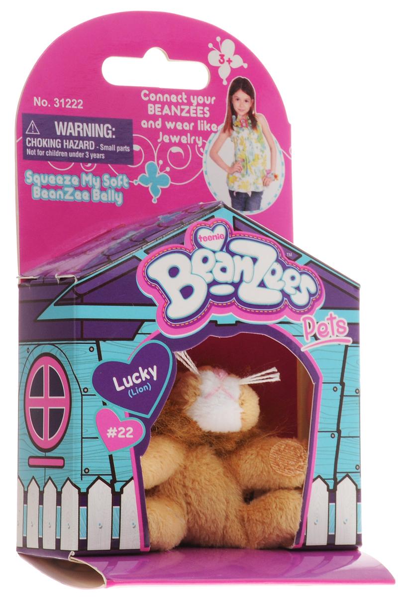 Beanzees Мягкая игрушка Лев Lucky 5 см