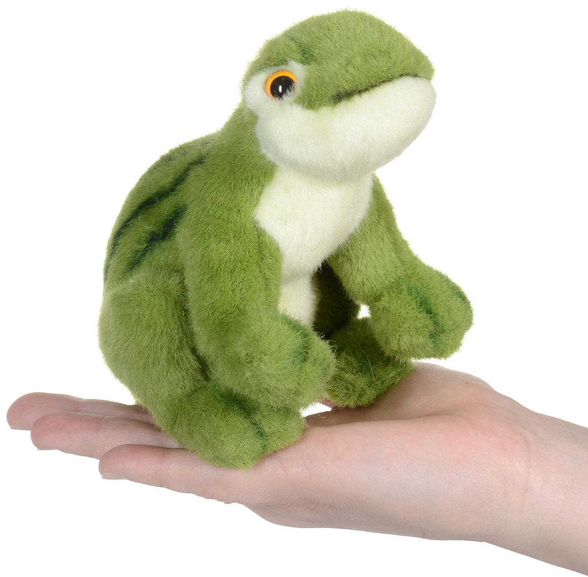 Hansa Toys Мягкая игрушка Зеленая лягушка 16 см