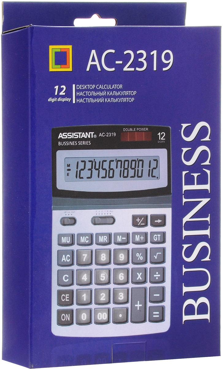 """Калькулятор """"Assistant AC-2319"""", 12-разрядный"""