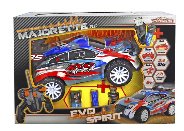 Dickie Toys Машинка на радиоуправлении Evo Spirit