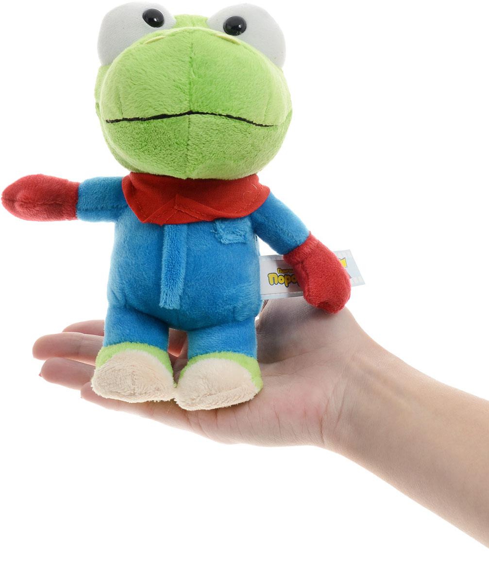 Мульти-Пульти Мягкая озвученная игрушка Динозаврик Кронг 17 см
