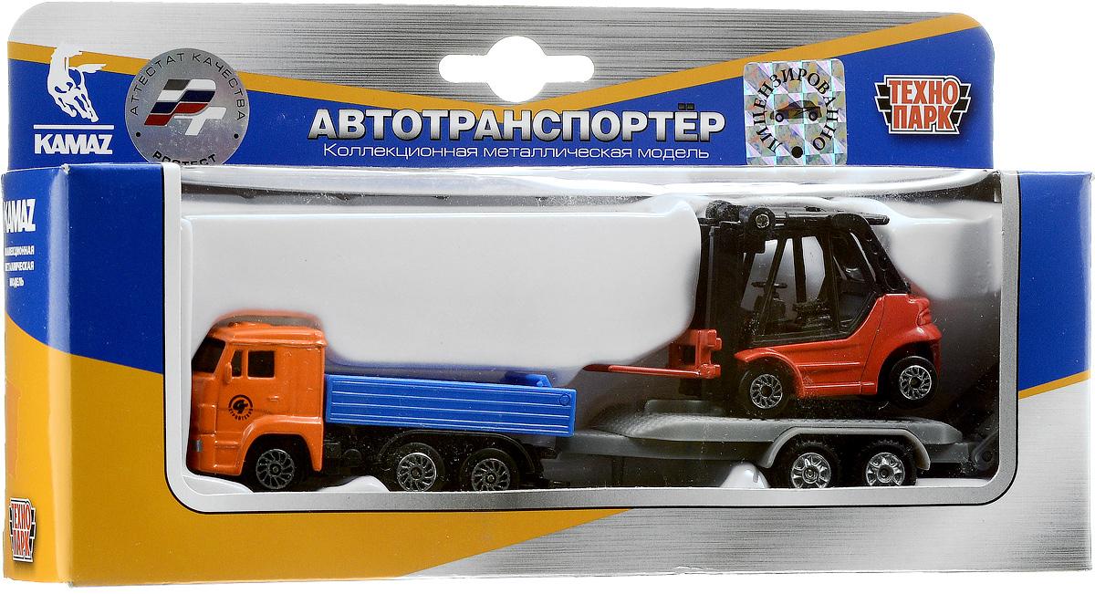 ТехноПарк Набор машинок КамАЗ с погрузчиком 2 шт