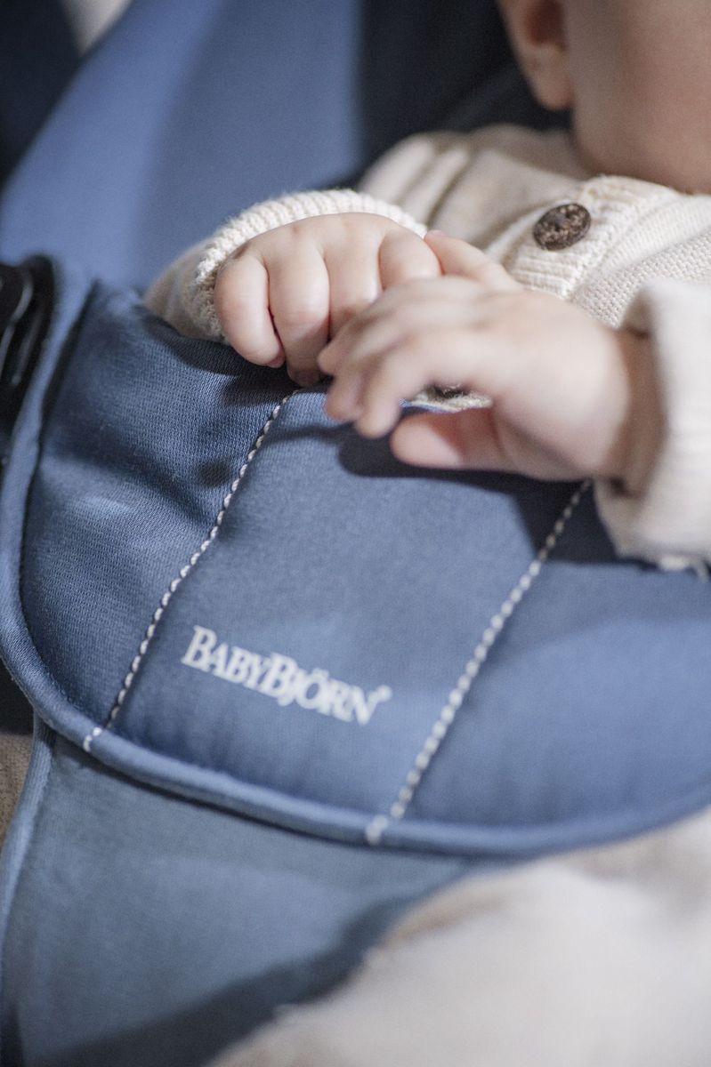 BabyBjorn Шезлонг Balance Soft цвет пепельно-голубой