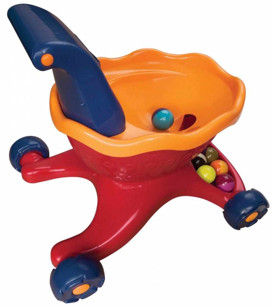 B.Dot Каталка-ходунки с шариками цвет красный