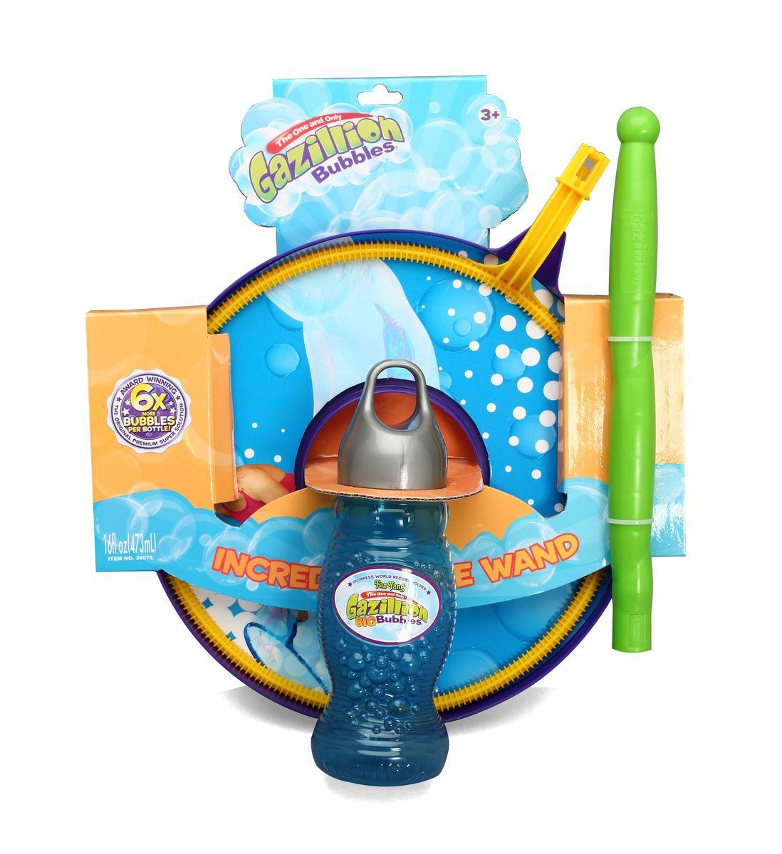 Gazillion Bubbles Игровой набор для пускания мыльных пузырей Fan Yang