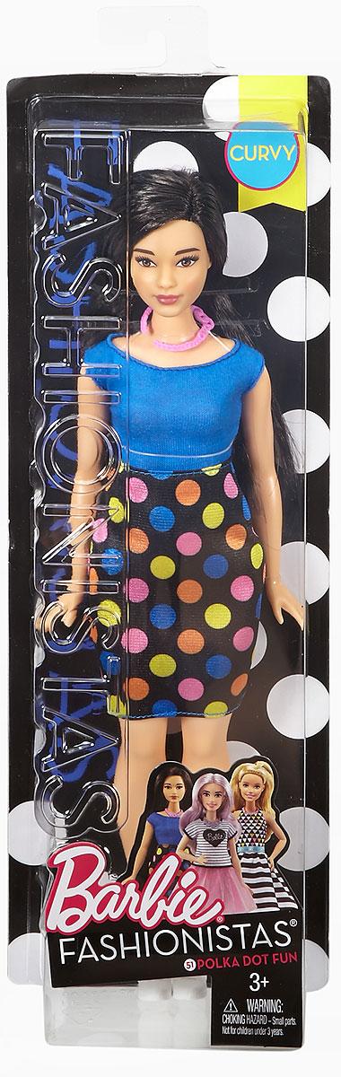 Barbie Кукла Fashionistas Polka Dot Fun
