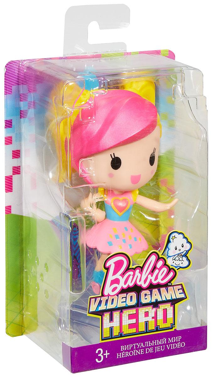 Barbie Мини-кукла Барби Виртуальный мир цвет одежды розовый голубой желтый