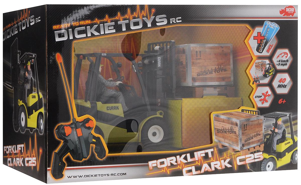 Dickie Toys Подъемник на радиоуправлении Forklift Clark C25