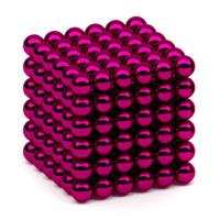 Неокуб Alpha 216 Red 5mm, цвет: красный, 216 элементов