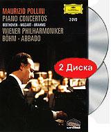 Beethoven, Mozart & Brahms Piano Concertos (2 DVD) 2005