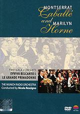 Montserrat Caballe And Marilyn Horne: Perform Vivaldi, Meyerbeer, Mercadante, Rossini... 1990 DVD