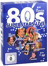 Various Artists: 80s Superstar Live (3 DVD)