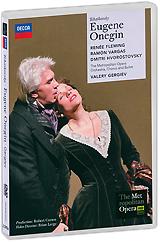 Renee Fleming and Dmitri Hvorostovsky triumph in Tchaikovsky's operatic masterpiece, filmed live at the Metropolitan Opera, New York. Robert Carsen's beautifully evocative staging highlights the personal drama at the heart of Pushkin's tragedy of unrequited love, and Valery Gergiev conducts a thrilling account of Tchaikovsky's most intensely passionate score. Act 1-3 Tatiana - Renee Fleming Olga - Elena Zaremba Madame Larina - Svetlana Volkova Filippyevna - Larisa Shevchenko Lenski - Ramon Vargas Eugene Onegin - Dmitri Hvorostovsky A Captain - Keith Miller Triquet - Jean-Paul Fouchecourt Zaretski - Richard Bernstein Prince Gremin - Sergei Aleksashkin