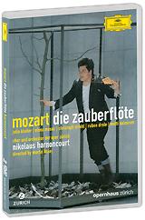 Mozart, Nikolaus Harnoncourt: Die Zauberflote (2 DVD)