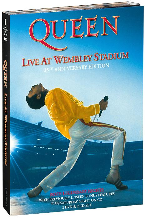 Queen: Live At Wembley Stadium (2 DVD + 2 CD)