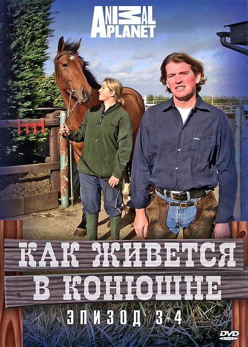 Animal Planet: Как живется в конюшне, эпизод 3-4Как живется в конюшне открывает нам захватывающий мир лошадей и конного спорта. Вся жизнь в отдельно взятой семье владельцев конюшни Эда и Нади, тренировка и уход за лошадьми, уроки верховой езды и прочее - каждый аспект жизни в конюшне будет рассмотрен со всех сторон.