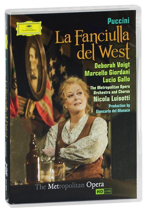 Puccini, Nicola Luisotti: La Fanciulla Del West (2 DVD)