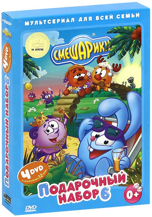 Смешарики: Подарочный набор 6 (4 DVD)