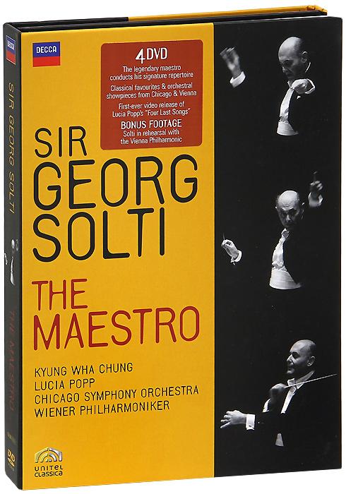 Sir Georg Solti: The Maestro (4 DVD) 2012