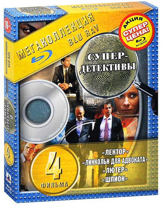 Супер-детективы 2 (4 Blu-ray) 2 1 blu ray