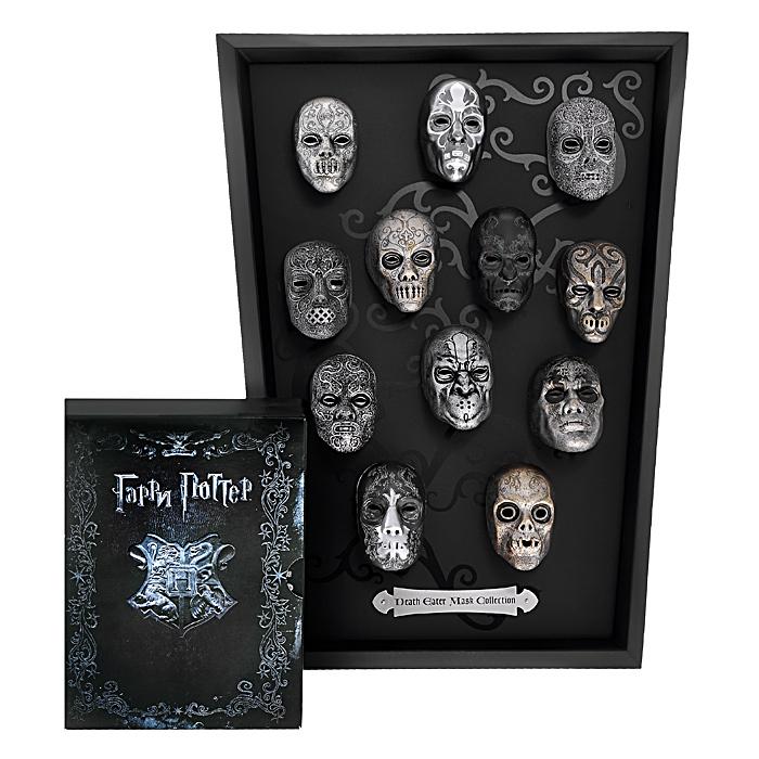 Гарри Поттер: Годы 1-7. Коллекционное издание + маски (11 Blu-ray)