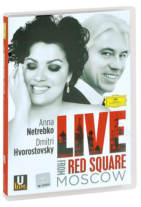 Anna Netrebko, Dmitri Hvorostovsky: Live From Red Square Moscow 2013 DVD