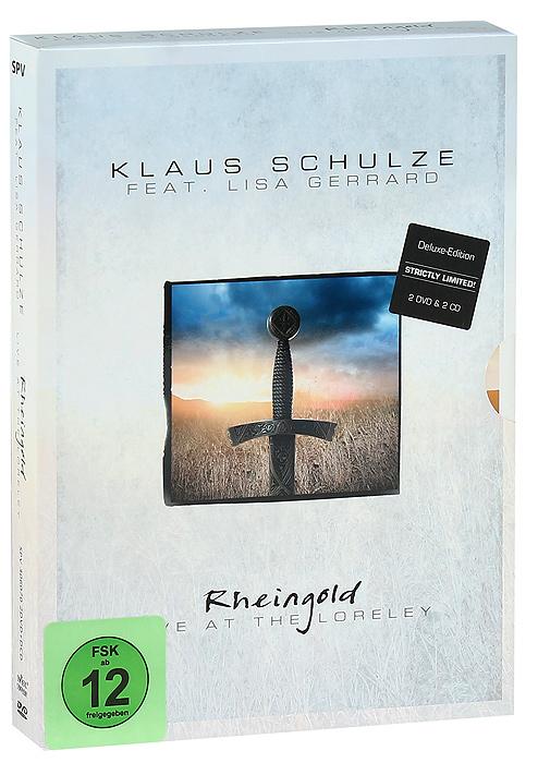 Klaus Schulze & Lisa Gerrard: Rheingold - Live At The Loreley (2 DVD + 2 CD)The Concert: Live At Loreley 18 July 2008: 01. Alberich 02. Loreley 03. Wotan 04. Wellgunde 05. Nothung 06. The Documentary - The Real World Of Klaus Schulze 07. The Interview - Steve Wilson Meets Klaus Schulze