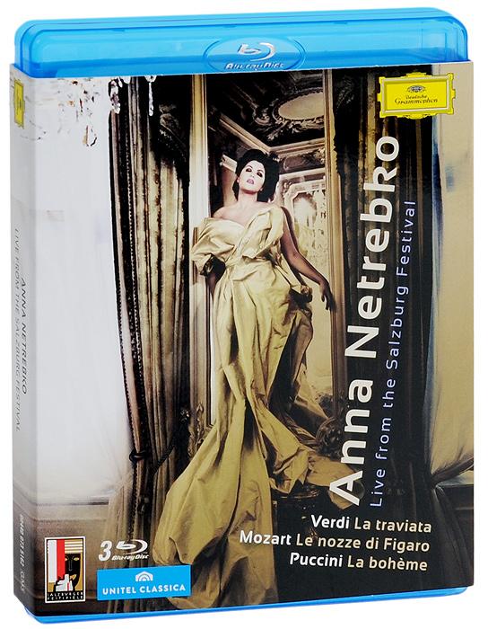 Anna Netrebko. Live From The Salzburg Festival (3 Blu-Ray)