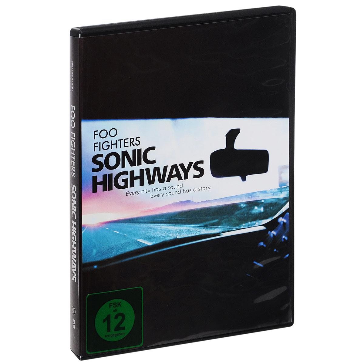 Foo Fighters: Sonic Highways (4 DVD) 2015