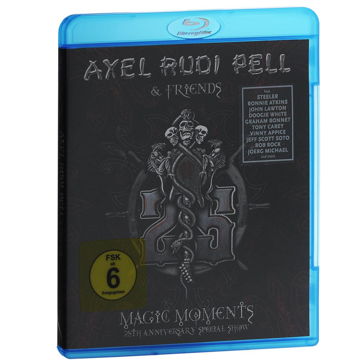 Axel Rudi Pell & Friends. Magic Moments. 25th Anniversary Special Show (Blu-ray) 2015