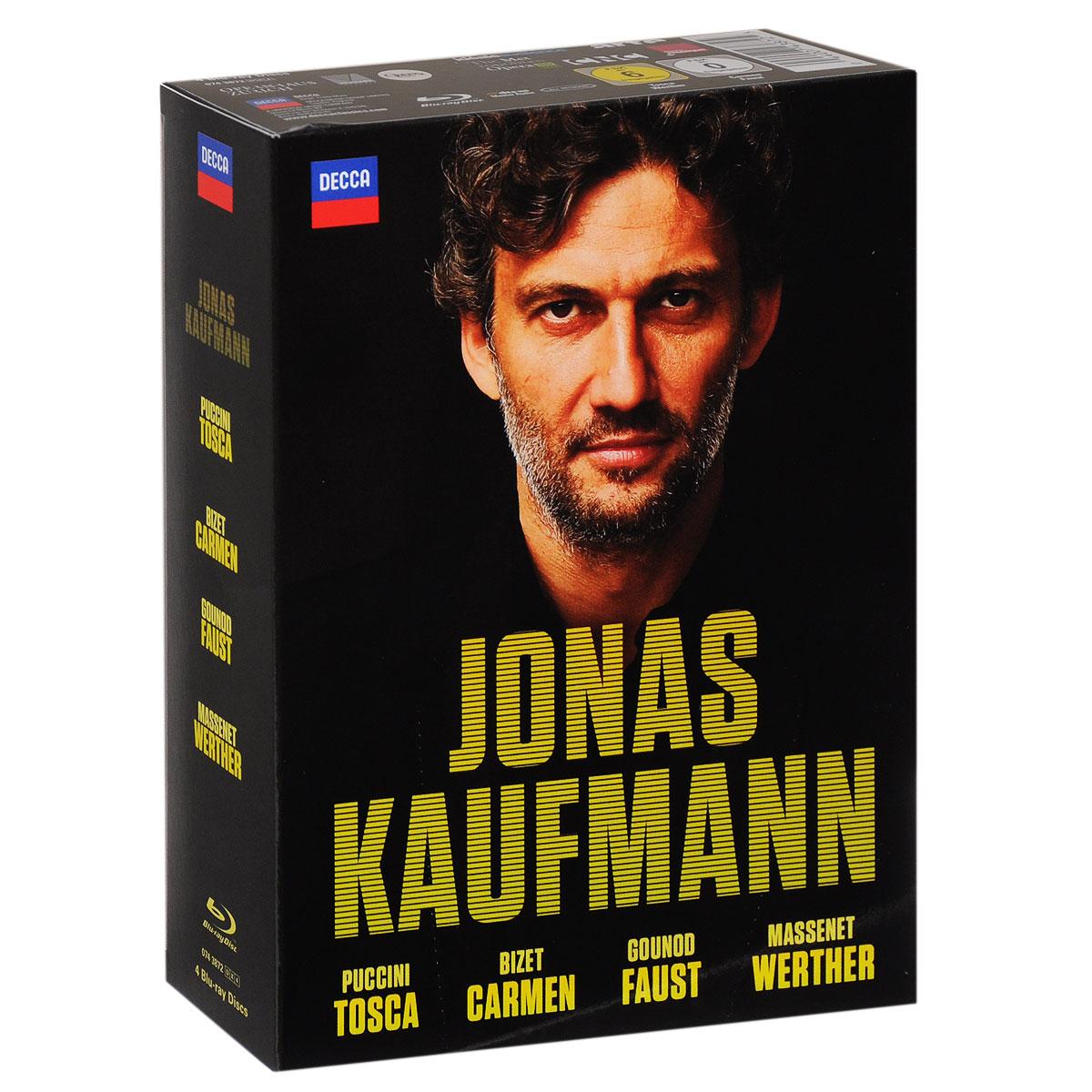 Jonas Kaufmann: Bizet: Carmen / Puccini: Tosca / Gounod: Faust / Massenet: Werther (4 Blu-ray)