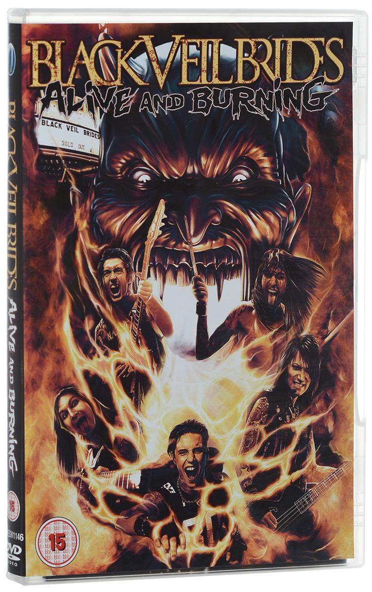 Black Veil Brides: Alive And Burning 2015 DVD