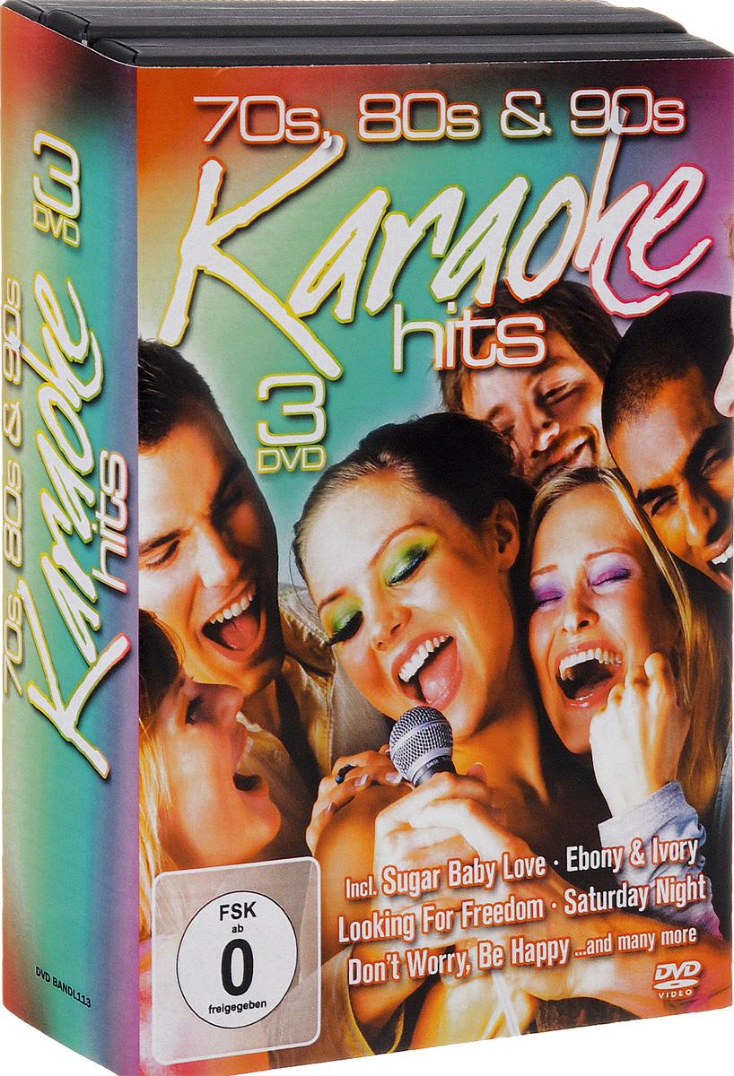 70s, 80s & 90s Karaoke Hits (3 DVD)