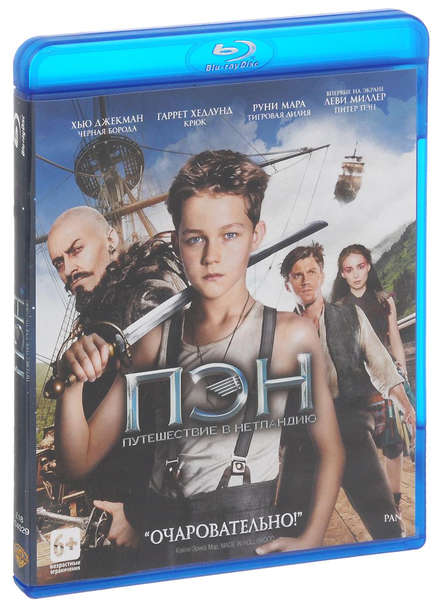 Пэн: Путешествие в Нетландию (Blu-ray)