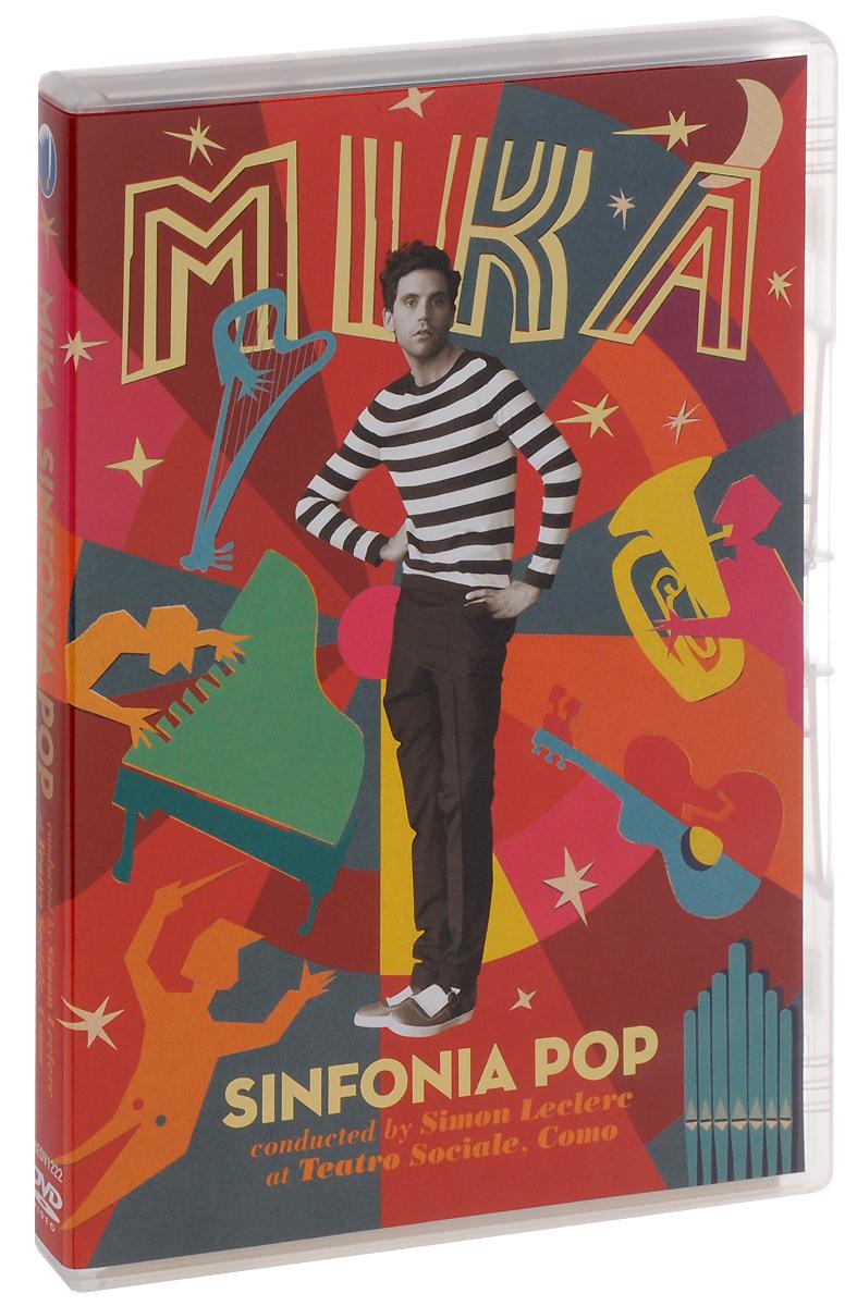 Mika. Sinfonia Pop 2016 DVD