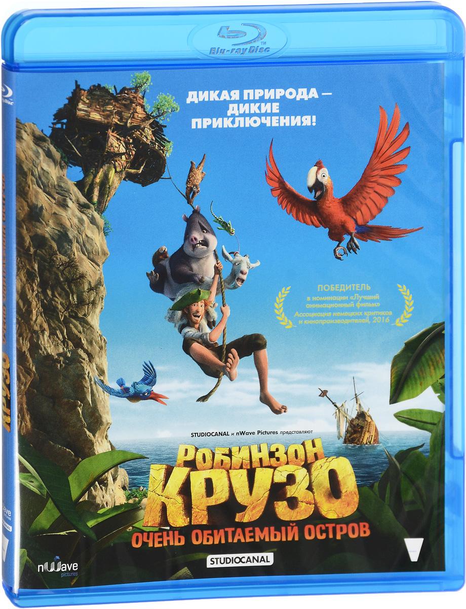 Робинзон Крузо: Очень обитаемый остров (Blu-ray)Все знают историю о Робинзоне Крузо, попавшем на необитаемый остров. Однако, как же можно назвать его необитаемым, если он населен разнообразными веселыми животными и птицами? Они очень удивились, впервые встретив это странное существо, и даже приняли его за морское чудовище. Попугаю по кличке Вторник и его друзьям - хамелеону, тапиру и другим обитателям острова предстоит поближе познакомиться с незнакомым зверем «человеком» и вместе с ним пережить массу опасных и веселых приключений.